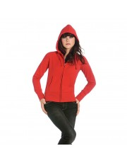 BC Hooded full zip women school leavers