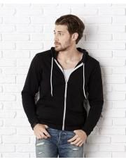 SnS contrast zip hoodie 300gsm